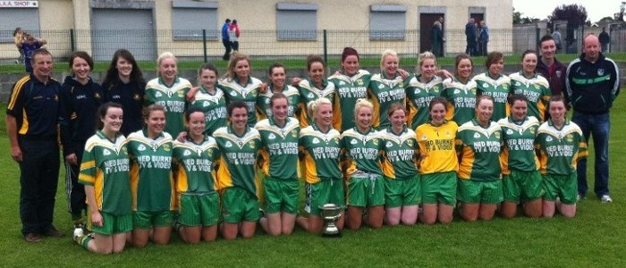 Ladies County Intermediate Champions 2013